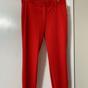 Red express dress pants